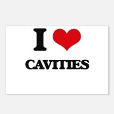 I love Cavities Postcards (Package of 8)