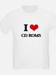 I love Cd-Roms T-Shirt