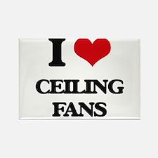 I love Ceiling Fans Magnets