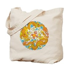 Lucky Chinese Dragon Tote Bag