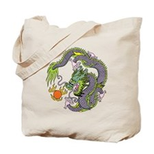 Lucky Chinese Dragon 2 Tote Bag