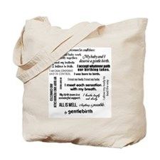 Affirmations Tote Bag