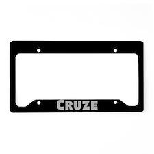 Cruze License Plate Holder
