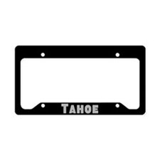 Tahoe License Plate Holder