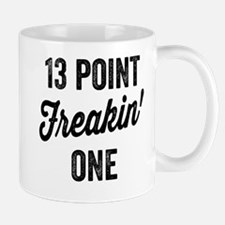 Thirteen Point Freakin One. 13.1. Half-Marath Mugs