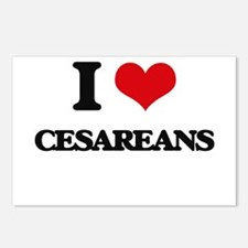 I love Cesareans Postcards (Package of 8)