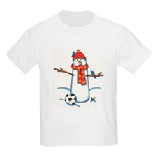footballerSnowman.jpg T-Shirt