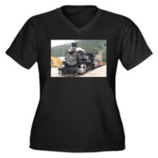 Steam train engine Silverton, Co Plus Size T-Shirt