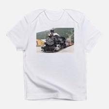 Steam train engine Silverton, Color Infant T-Shirt