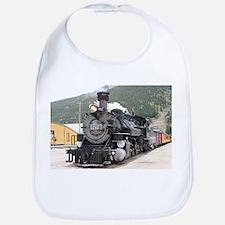 Steam train engine Silverton, Colorado, USA 8 Bib