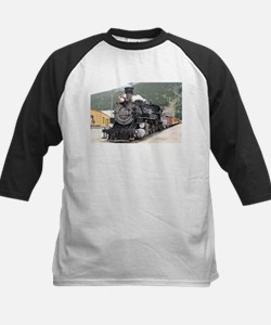Steam train engine Silverton, Colo Baseball Jersey