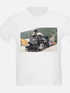 Steam train engine Silverton, Colorado, US T-Shirt
