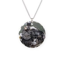 Steam train engine Silverton Necklace