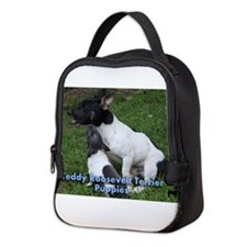 Teddy Roosevelt Terrier puppies Neoprene Lunch Bag