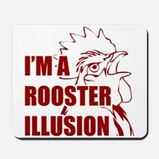TROPICTHUNDER ROOSTER ILLUSION Mousepad