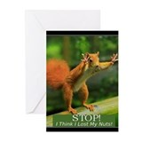 Nuts Greeting Cards (10 Pack)