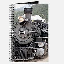 Steam train engine Silverton, Colorado, US Journal
