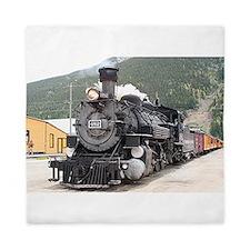 Steam train engine Silverton, Colorado Queen Duvet