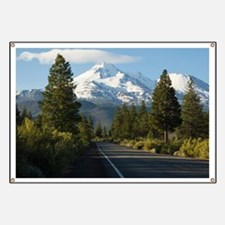 Road to Mount Shasta Banner