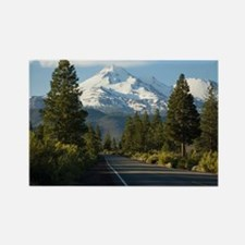 Road to Mount Shasta Magnets
