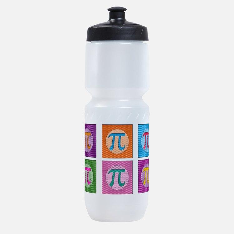 Pop Art Pi Sports Bottle