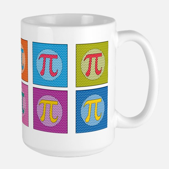 Pop Art Pi Mugs