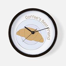 Coffee's Best Freind Wall Clock