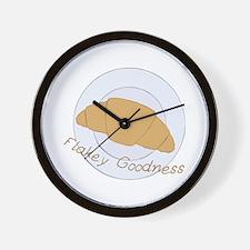 Flakey Goodness Wall Clock