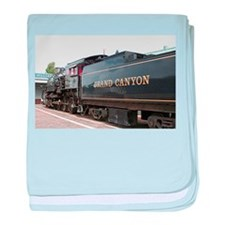 Grand Canyon Railway, Williams, Arizo baby blanket