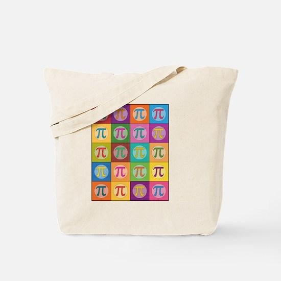 Pop Art Pi Tote Bag