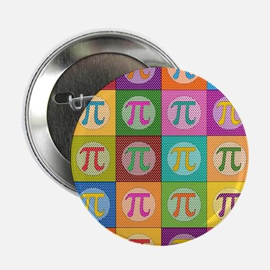 """Pop Art Pi 2.25"""" Button (10 pack)"""