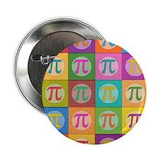 """Pop Art Pi 2.25"""" Button (100 pack)"""
