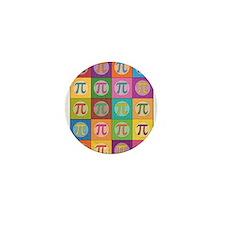 Pop Art Pi Mini Button
