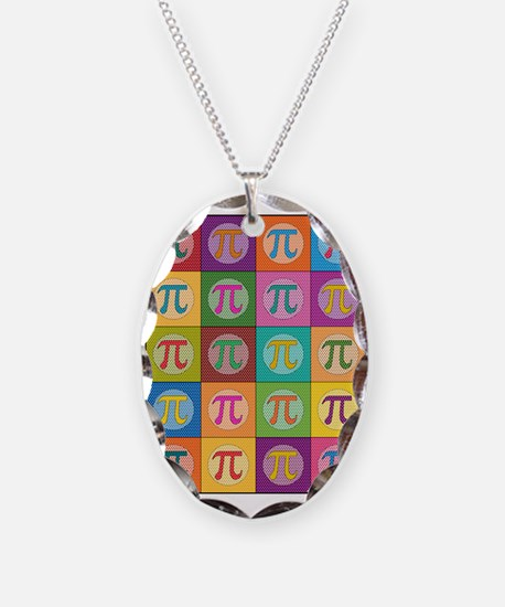 Pop Art Pi Necklace