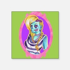 Neon Zombie Sticker