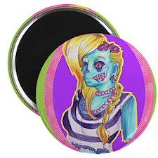 Neon Zombie Magnets
