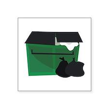 Garbage Dumpster Sticker
