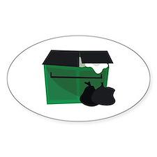 Garbage Dumpster Decal