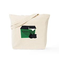 Garbage Dumpster Tote Bag
