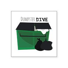 Dumpster Dive Sticker
