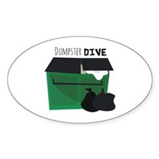 Dumpster Dive Decal