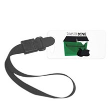 Dumpster Dive Luggage Tag