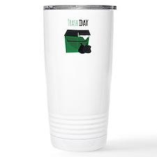 Trash Day Travel Mug