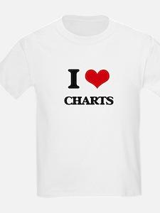 I love Charts T-Shirt