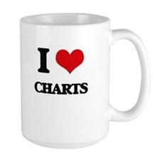 I love Charts Mugs
