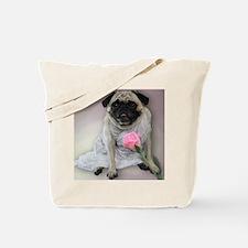 Bridal Lingerie Pug Tote Bag