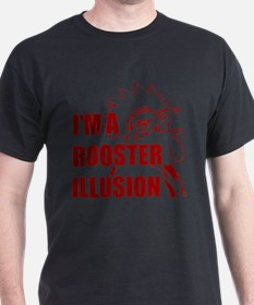 TROPICTHUNDER ROOSTER ILLUSION T-Shirt