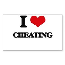I love Cheating Decal