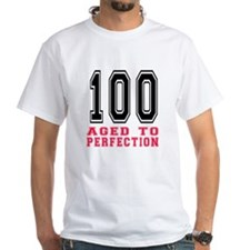 100 Aged To Perfection Birthday Desi Shirt