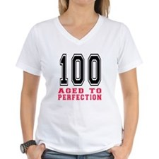 100 Aged To Perfection Birt Shirt